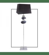 Pebble Floor Lamp Black