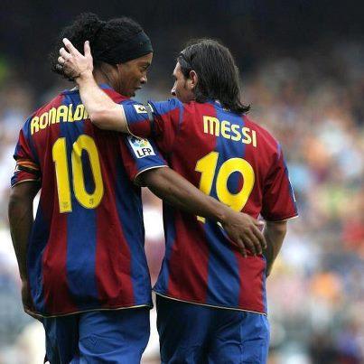 Messi vs Ronaldinho  Who Is The Barcelona King