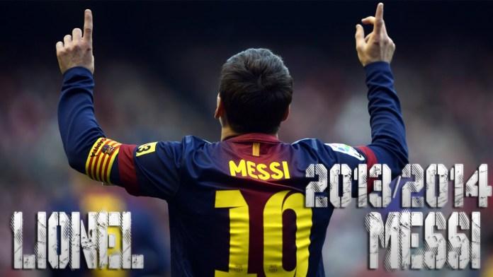 Lionel Messi Skills 2013-2014