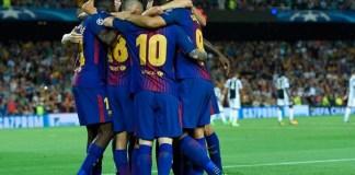 Barcelona vs Juventus 3-0
