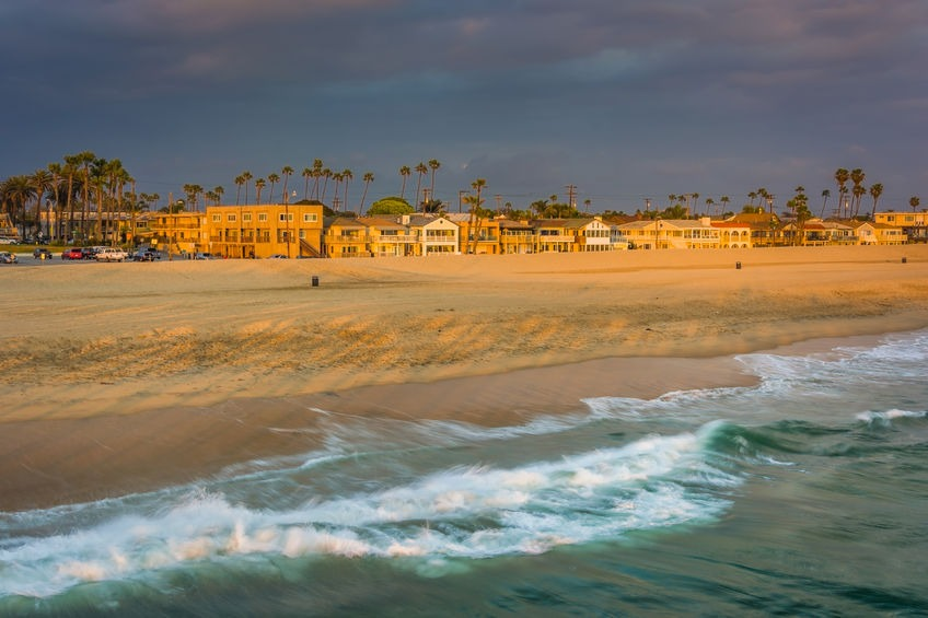 Seal Beach oceanfront homes