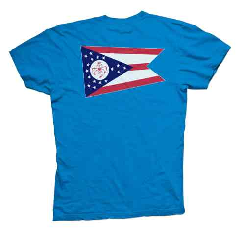 Red Wanting Blue Ohio Flag Shirt Back