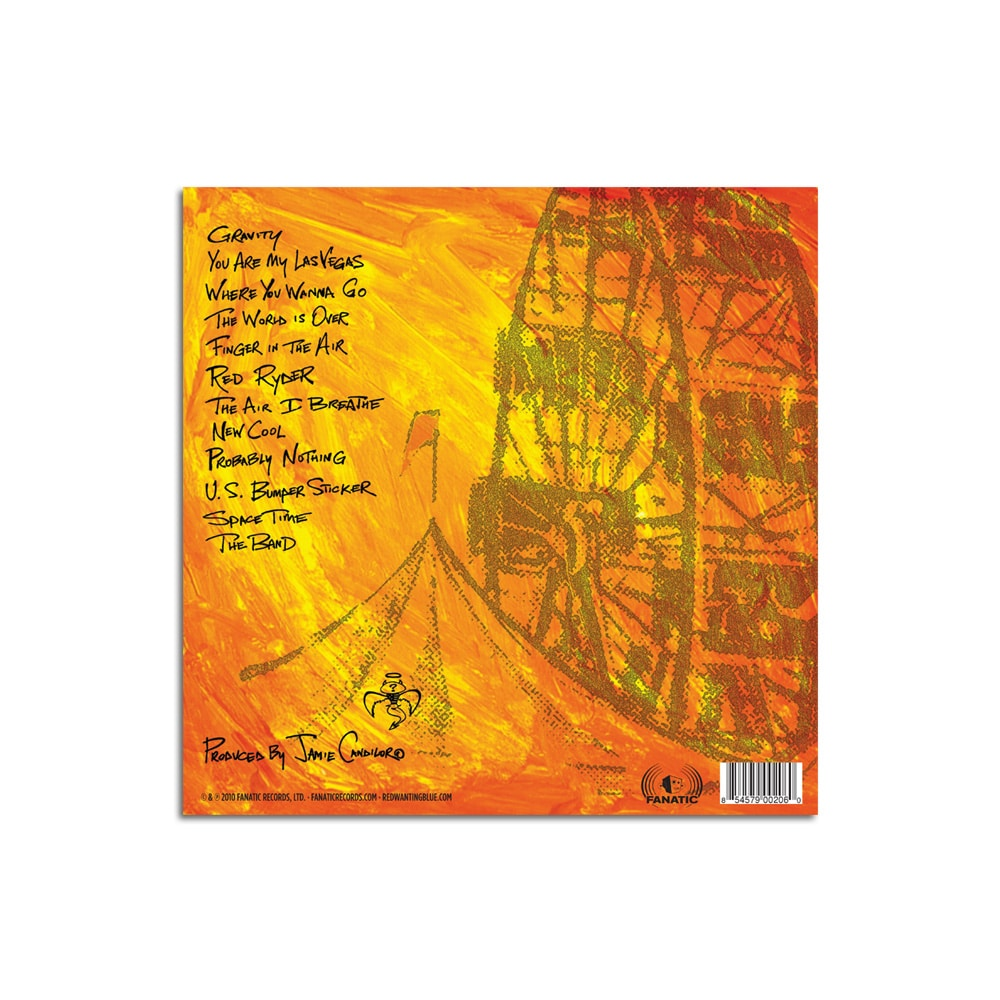 Red Wanting Blue These Magnificent Miles CD Back