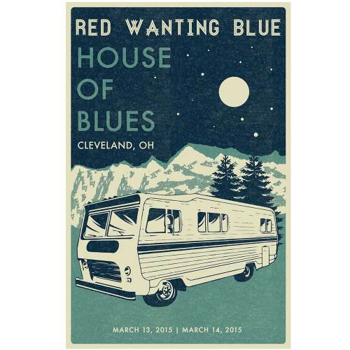 Red Wanting Blue Cleveland 2015