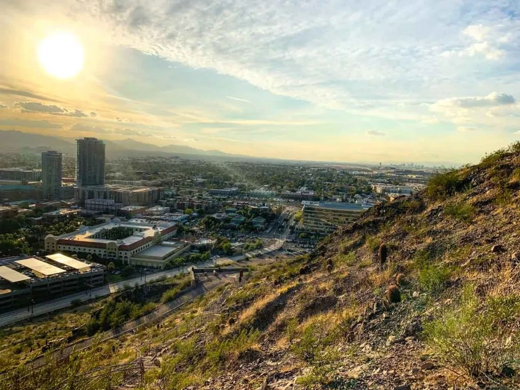 A Mountain in Tempe is a fun easy hike in Arizona.