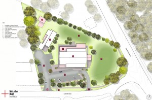 Redwood College Site Plan