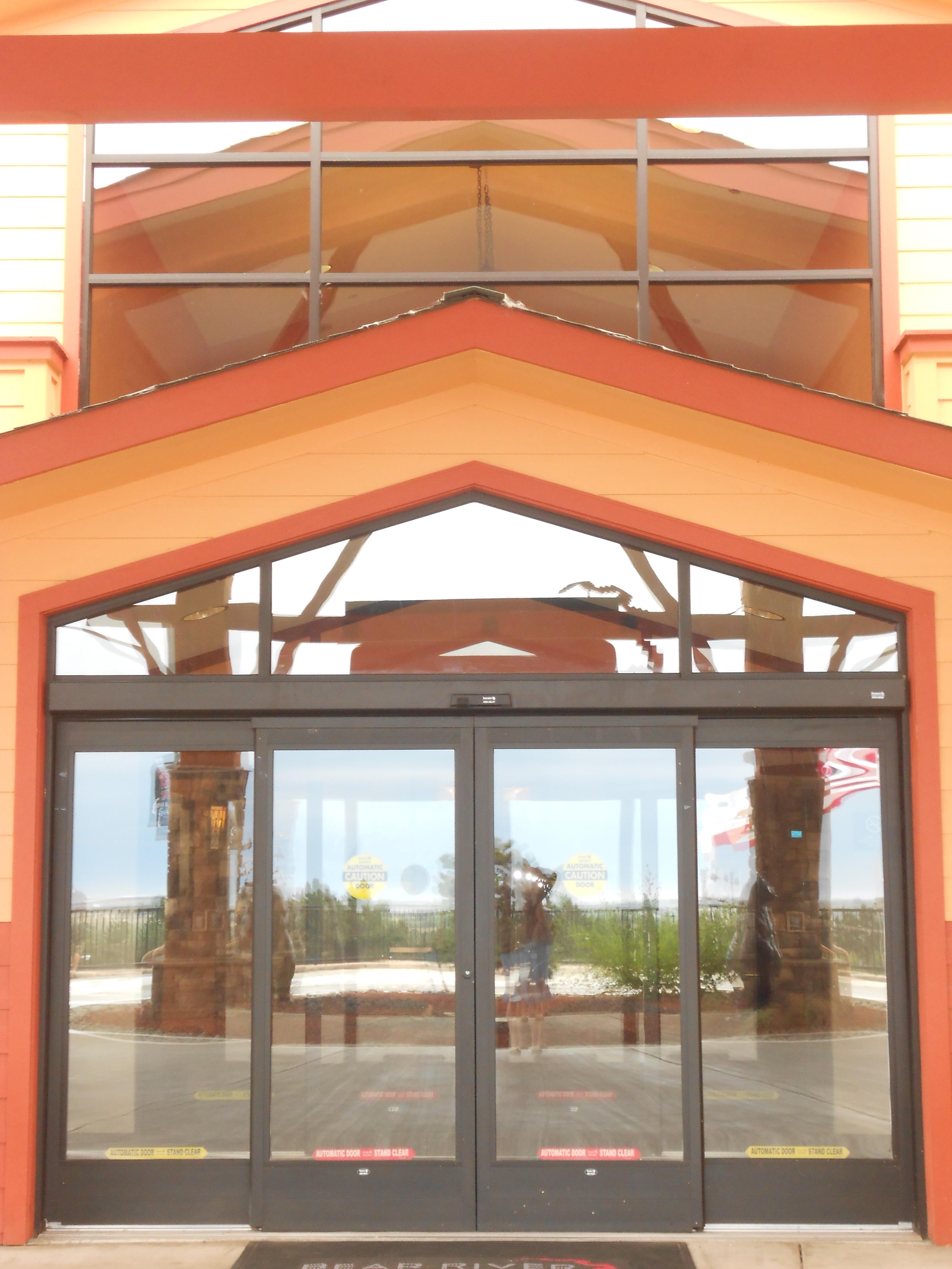 Automatic doors  Redwood Glass