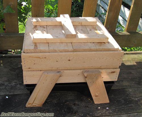 wooden worm bin plans