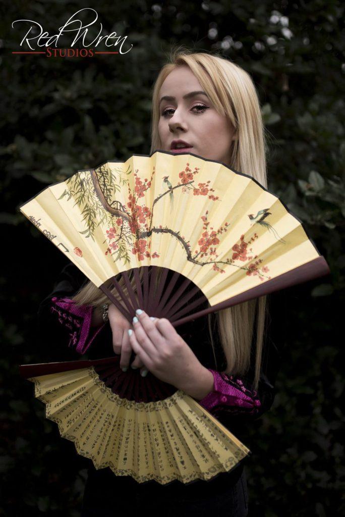Oriental photoshoot