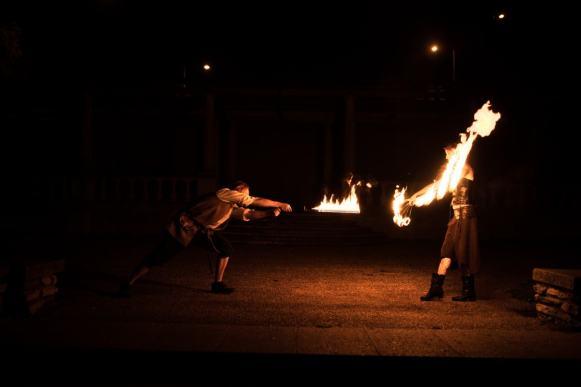fire performer Creative Suffolk photographer