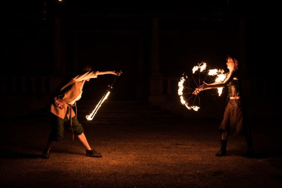 fire performer Creative Suffolk photographer
