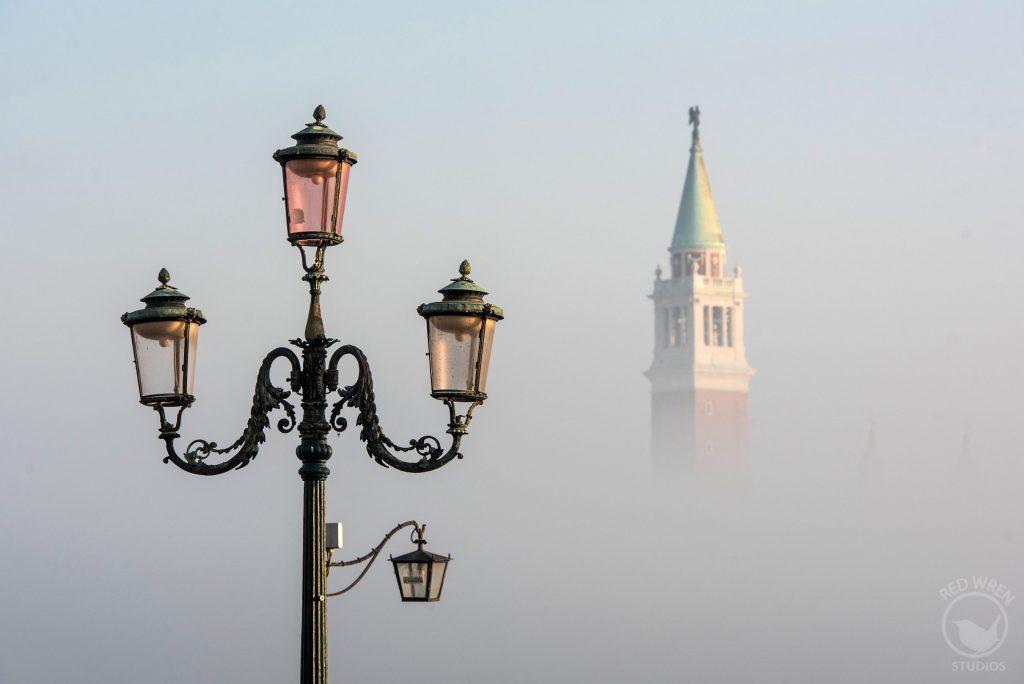 Venice fog, Italy