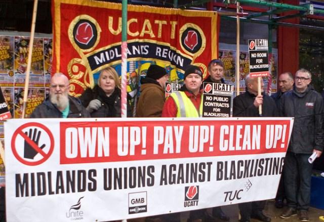Campaigners in Birmingham