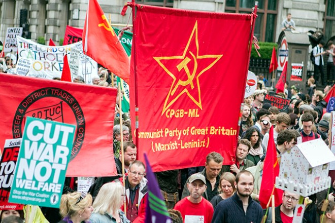 End Austerity Now Demo, London, 20th June 2015