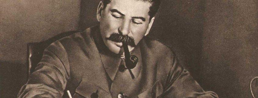 Stalin writing