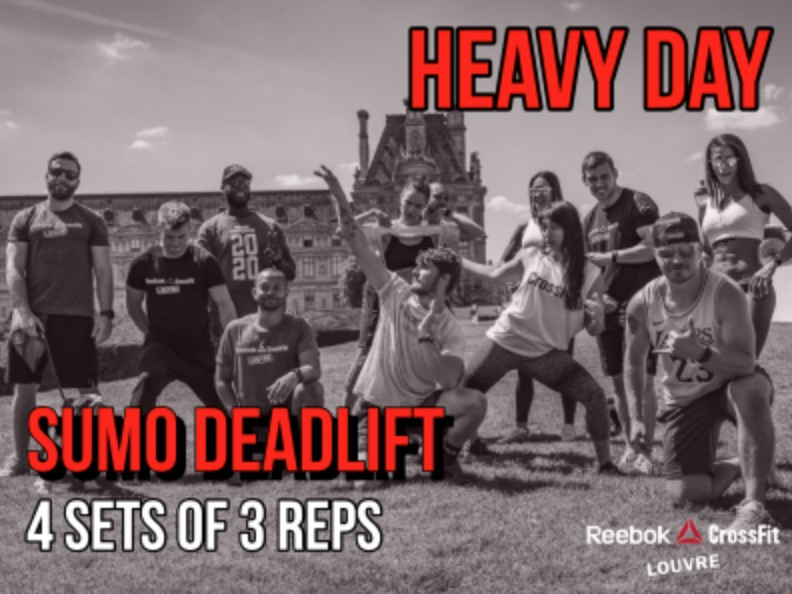 Wod Sumo Deadlift CrossFit