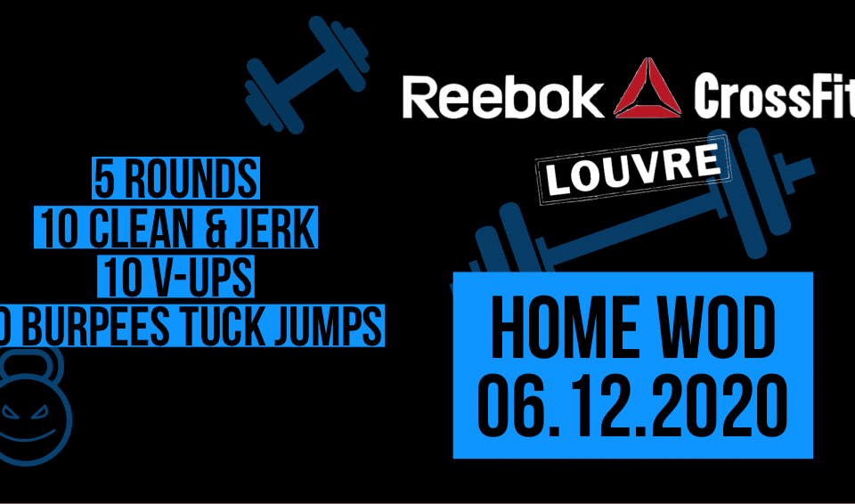 Clean&Jerk V-Up Burpee Tuck Jump For Time