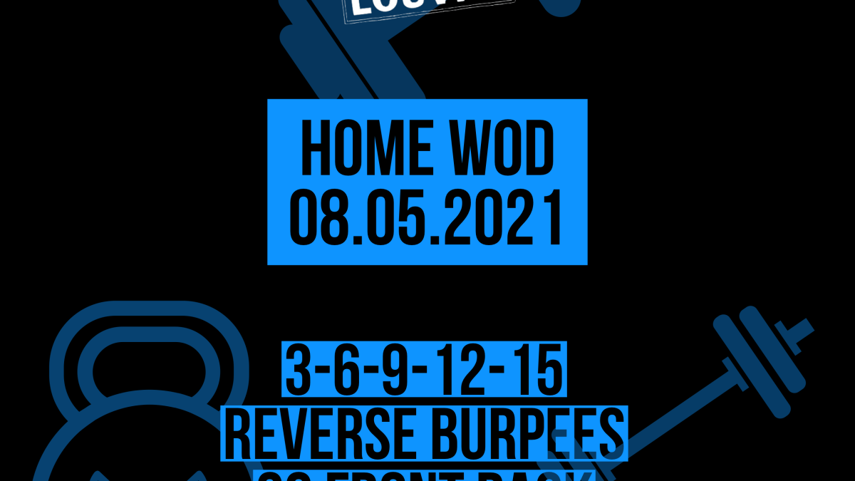 Reverse Burpee Front Rack Lunges For Time