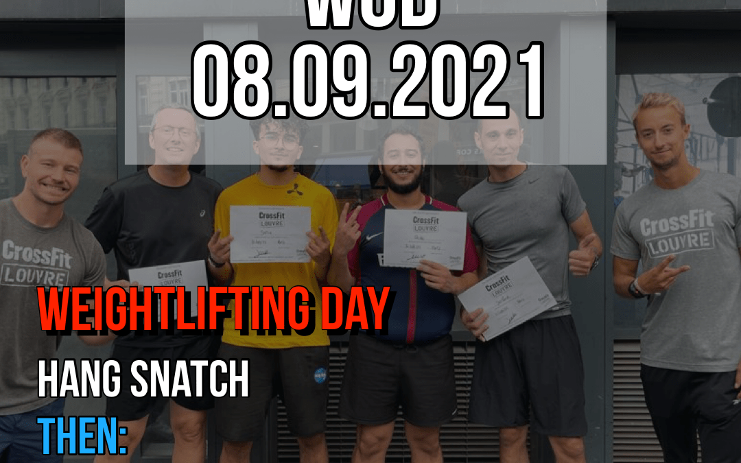 Weightlifting Day Hang Snatch AMRAP Practice