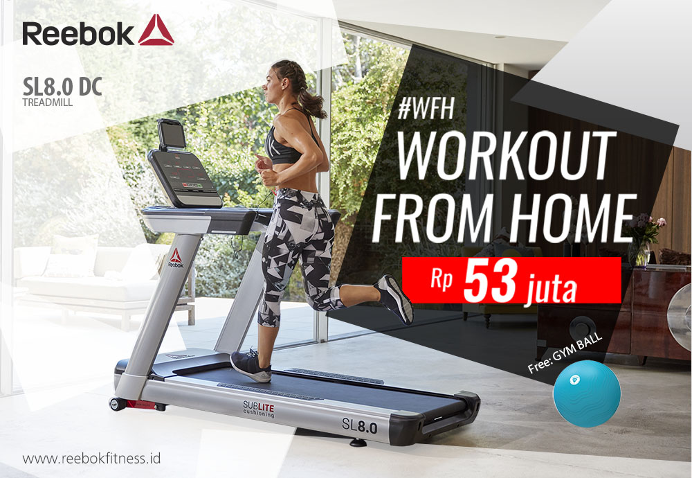 Workout From Home Reebok Fitness