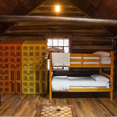 Reeb Ranch Cabin - Living Room - Bunk View