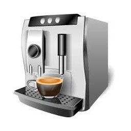 Reed switches in commercial coffee machine