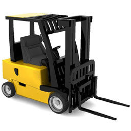 Reed switches in end position sensing in fork lifts