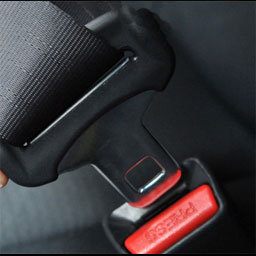 Reed switches in seat belt locking system