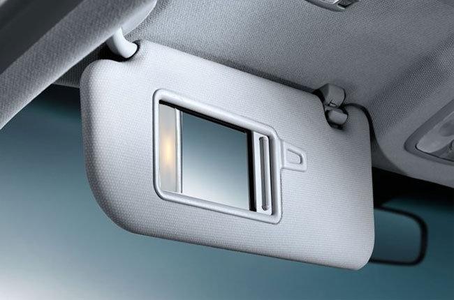 Reed sensors in Automobile Sun Visors