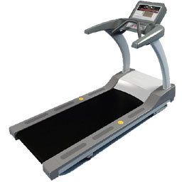 Reed switches in treadmill