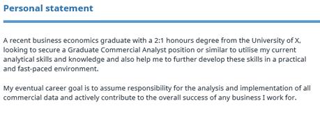 Graduate CV Template Reed Co Uk