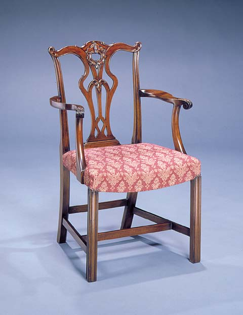 chinese chippendale chairs uk red arm chair traditional british handmade in britain reed rackstraw armchair with sunburst carving