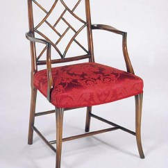 Chinese Chippendale Chairs Uk Chair Covers Gumtree Glasgow Traditional British Handmade In Britain Reed Rackstraw Arm