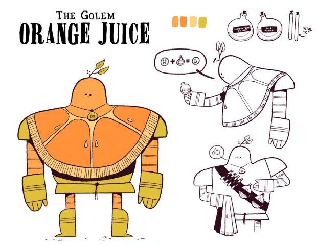 Healer Orange Juice