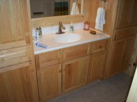 Hand Crafted Soild Oak Bathroom Vanity and Cabinets: Grove