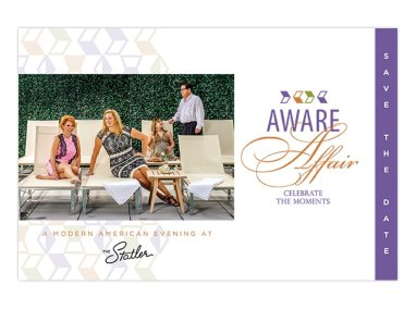 aware save the date