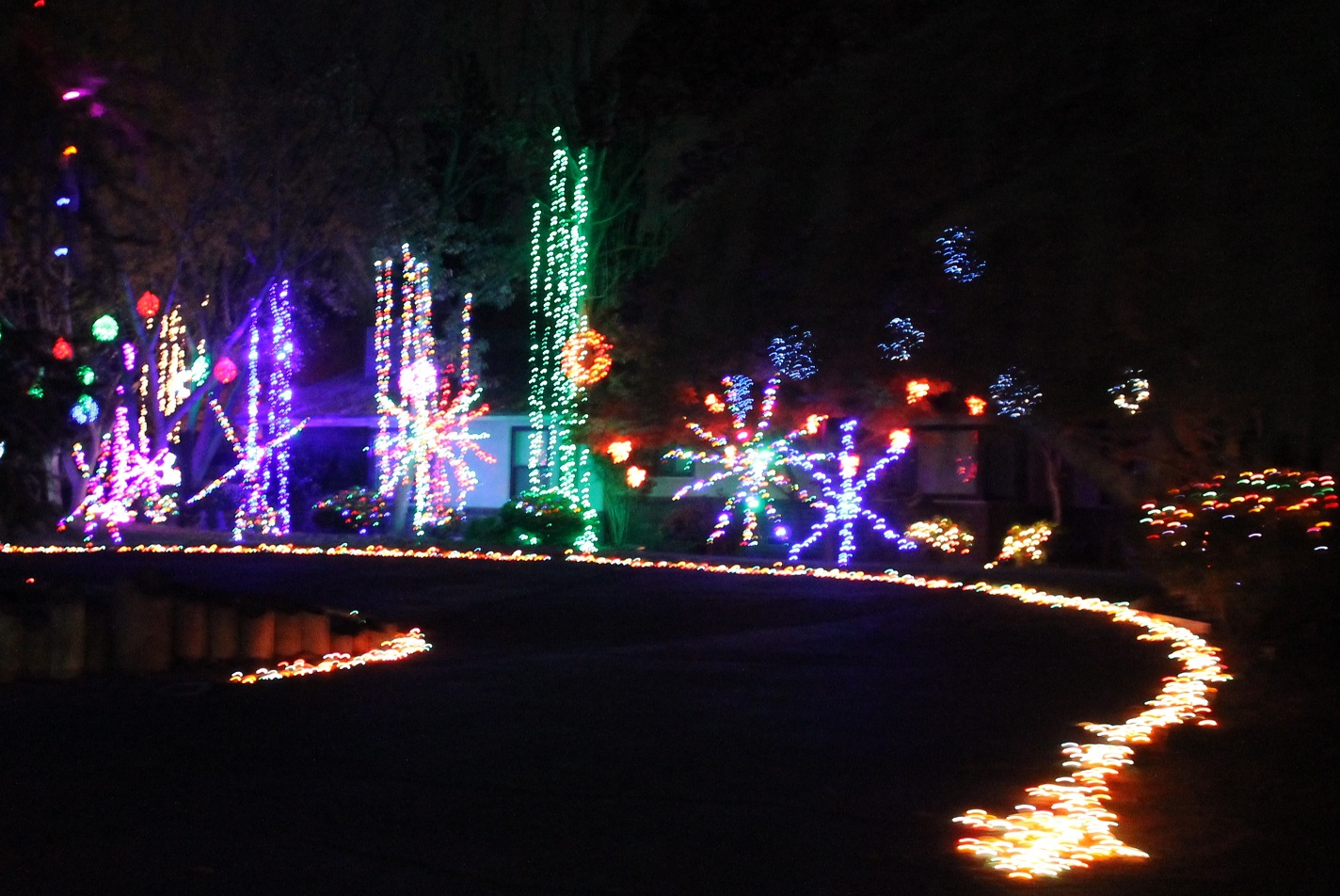 For More Information You Can See Their Facebook Page At: Christmas Tree  Lane Fresno