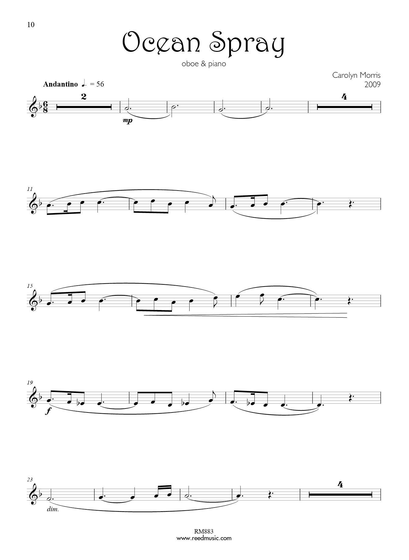 Exam: AMEB   Reed Music