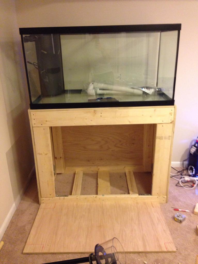 2×4 Aquarium Stand Plans