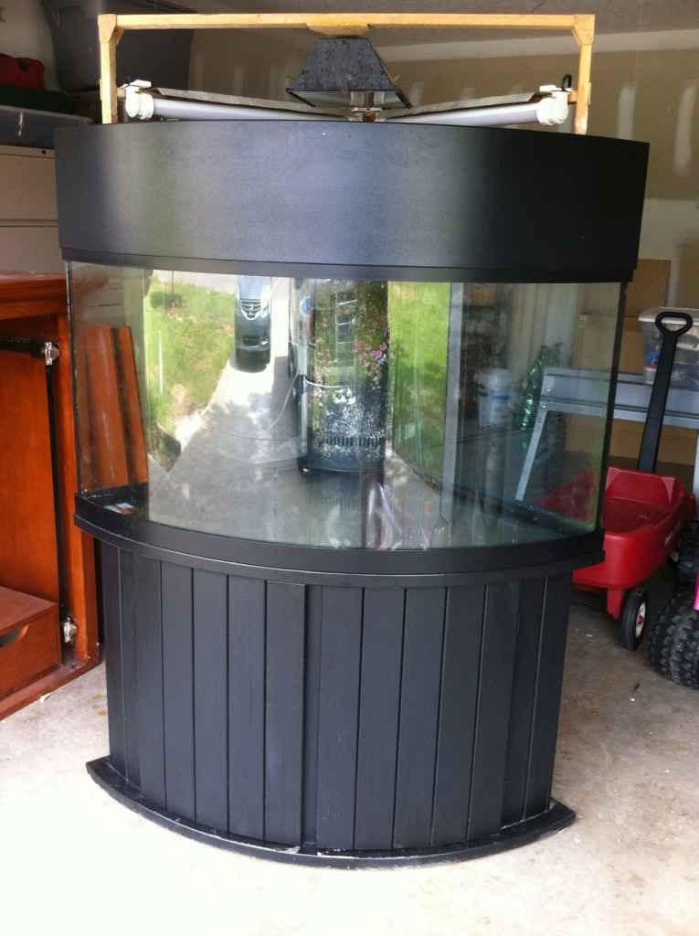 92 Gallon Corner Aquarium Stand