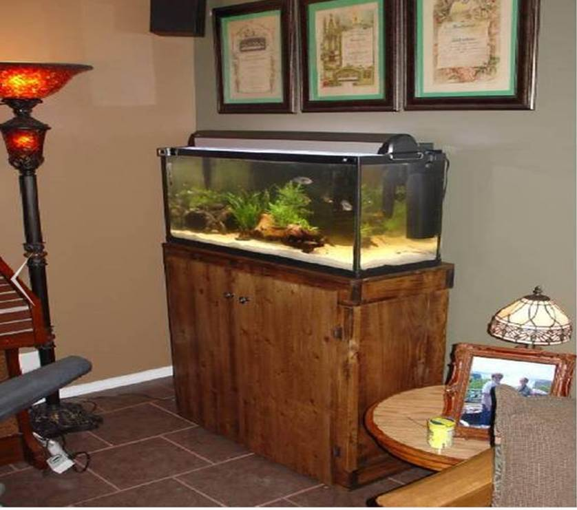 92 Gallon Corner Aquarium Stand