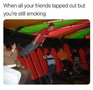Still Tapped In Meme
