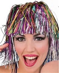 And when you're finished with the tinsel experiment, you can do this with the tinsel