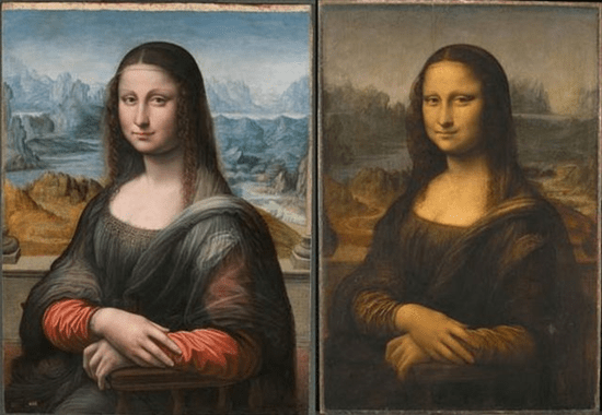What Mona Lisa painting really looked like