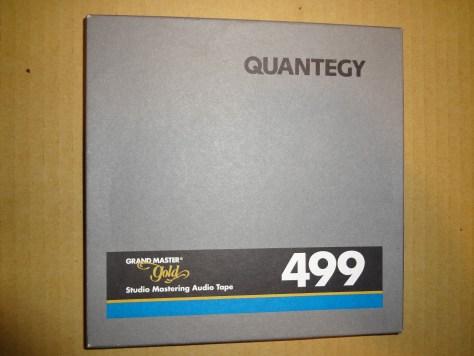 Quantegy 499 reel to reel studio master gold