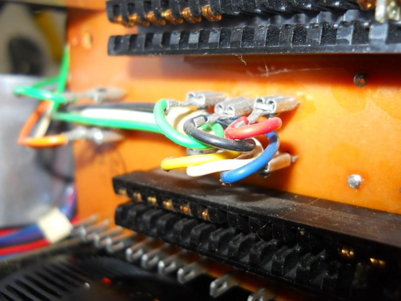 colour wires close up revox A77