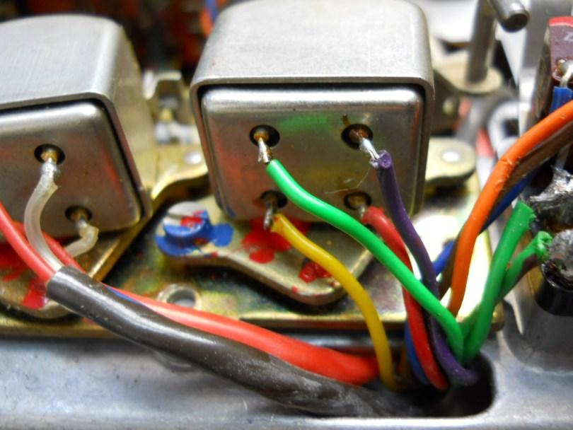 connector wire to tape head Revox A77 repair