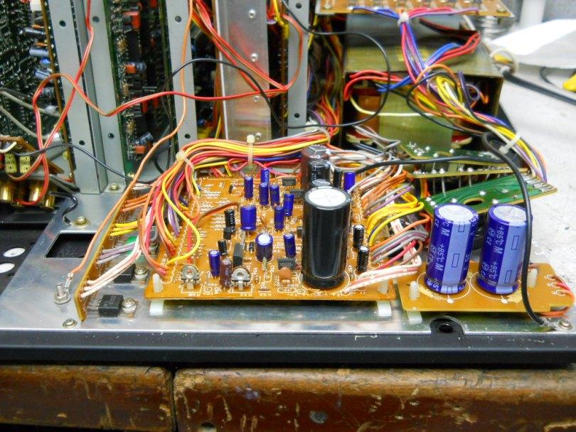 circuit boards Teac Z-7000 master cassette tape deck