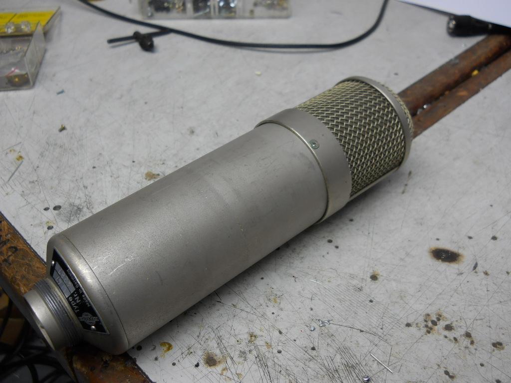 U47 mic restoration