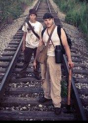 Cole Simon and Sara Gorsky in the Chrysalis teaser